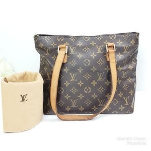 Authentic Louis Vuitton Cabas Piano with dustbag